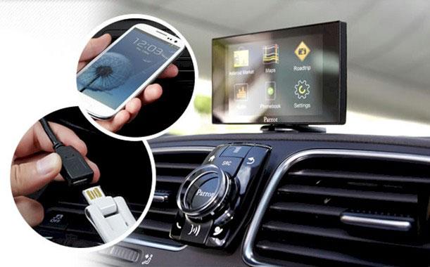 Instal·lació i reparació de kits de telefonia per automòbil