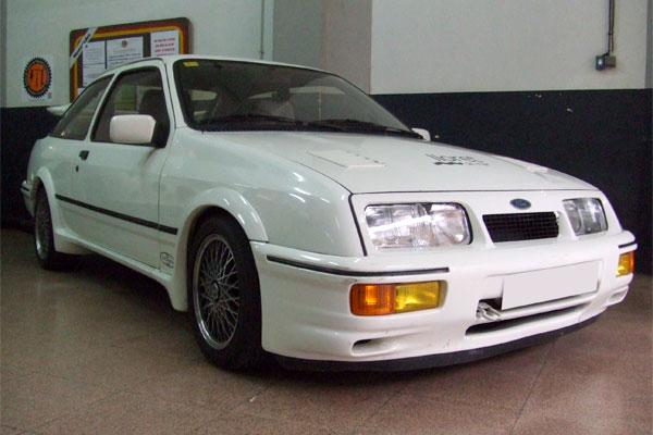 Galeria de cotxes Cosworth Racing