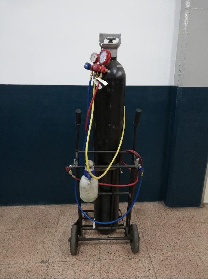 Nitrogen per fugues aire condicionat