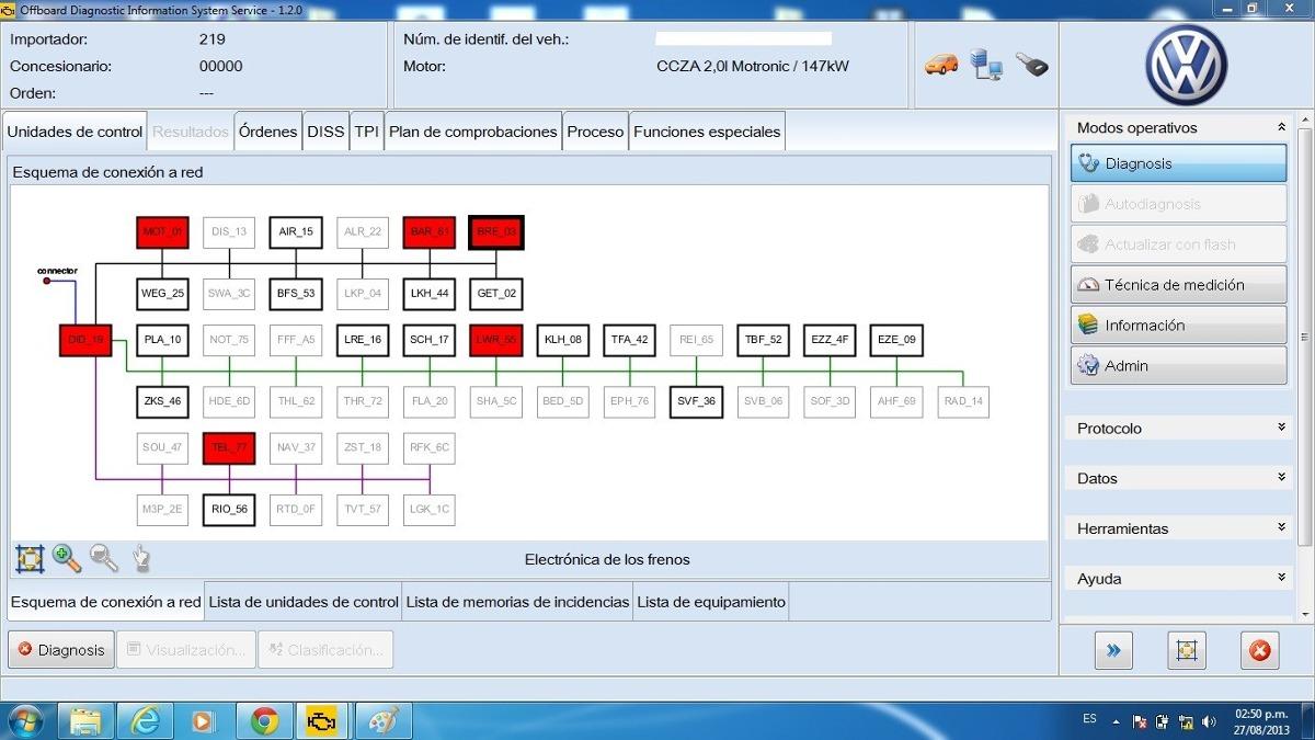 Reprogramacion y configuracion de (UCES)